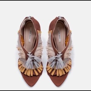 Limited Edition: TriColor Sandals w/ Fringes